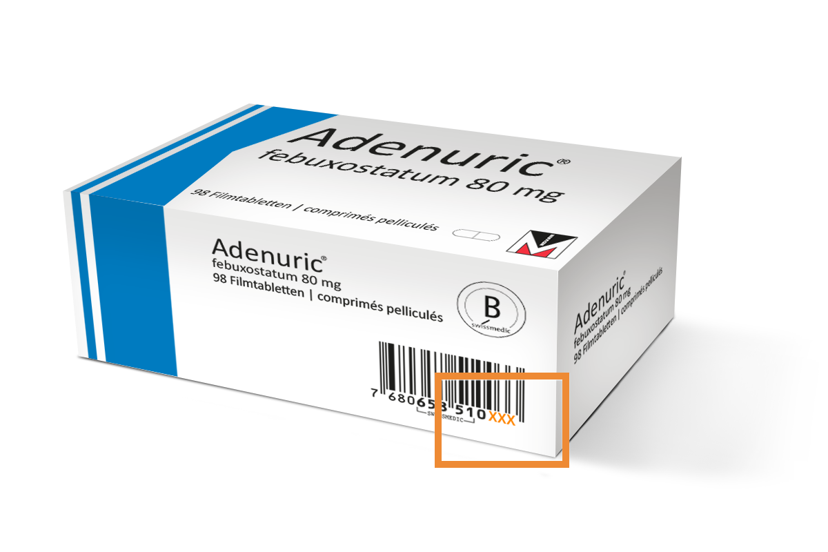Adenuric Pack